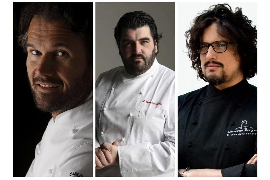 Chef in scena: Cracco, Cannavacciuolo e Borghese