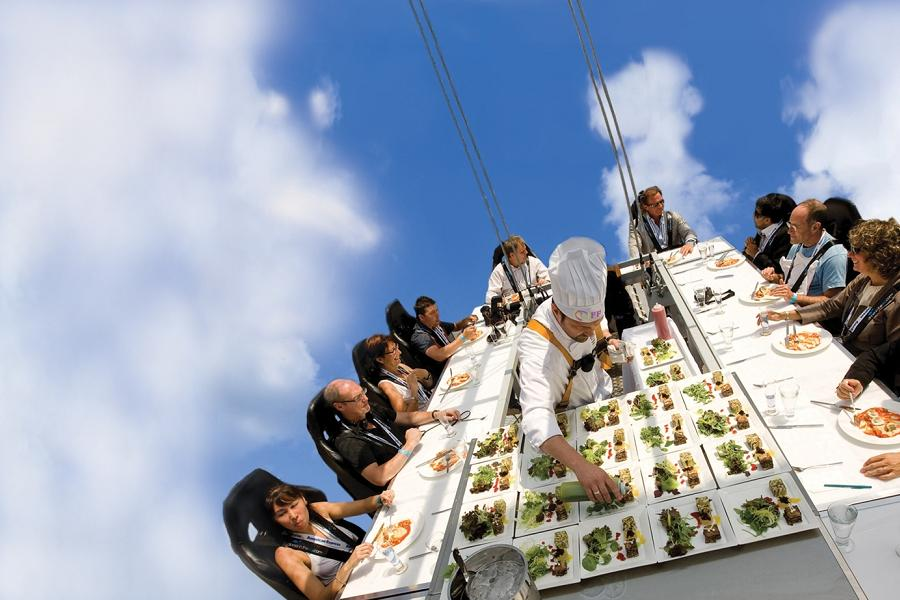 Dinner in the Sky Roma: a settembre l'evento